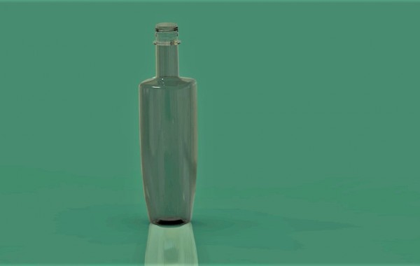 PET Olive Oil Bottle